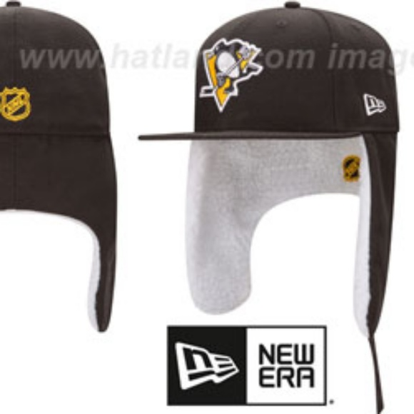 newest 00395 4e2c5 New Era Pittsburgh Penguins Dogear Cap 7.5 NWT
